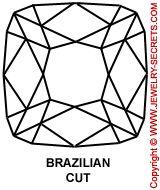 Brazilian Cut Diamond