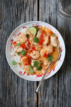 Moqueca (Brazilian seafood stew) with Shrimp and Grouper   Five and Spice