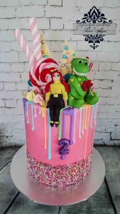 Drip cake wiggles by Tina Ayer Melbourne www.cutomcakesandpastriesbytinaayer.com.au