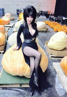 Photos of Elvira Mistress of the Dark — elvira-macabre: Darlings! It's Halloween in less. Goth Beauty, Dark Beauty, Classic Actresses, Actors & Actresses, Elvira Movies, Pin Up, Cassandra Peterson, Horror Icons, Hollywood