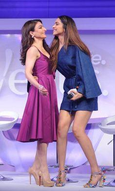 Soha Ali Khan & Deepika Padukone