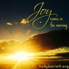 Tara Ulrich: Joy Comes in the Morning | Holly Barrett #TestimonyTuesday #WomenWhoInspire #ReclaimingaRedeemedLife