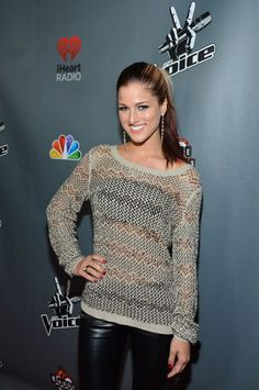 Cassadee at the #Top12 party. #TheVoice