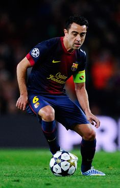 I think my style of playing soccer is more like Xavi.