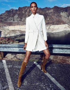 Cora Emmanuel In 'Pam Am' By Paola Kudacki For Vogue Spain March2015 - 3 Sensual Fashion Editorials | Art Exhibits - Women's Fashion & Lifestyle News From Anne of Carversville