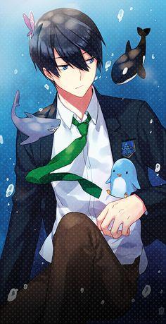 Browse Haruka Nanase collected by Vira Vanessa and make your own Anime album. Manga Anime, Manga Boy, Anime Boys, Haruka Nanase, Makoharu, Otaku, Swimming Anime, Makoto, Free Eternal Summer