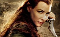 Tauriel in The Hobbit The Desolation of Smaug (click to view)