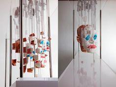 The Skewed, Anamorphic Sculptures and Engineered Illusions of Jonty Hurwitz    clown. sculpture. art.