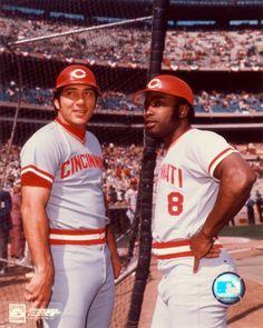 Johnny Bench and Joe Morgan