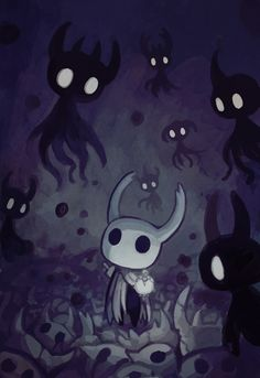 Shadelings and envy || pixiv 隠戸 || Hollow Knight