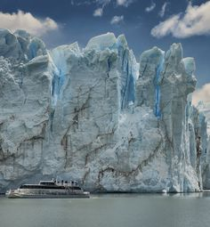 Perito Moreno Glacier in Patagonia, Argentina. #travel #adventure #patagonia #argentina