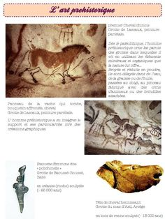 l'art préhistorique-ce1 ce2 - Dans ma classe, il y a...