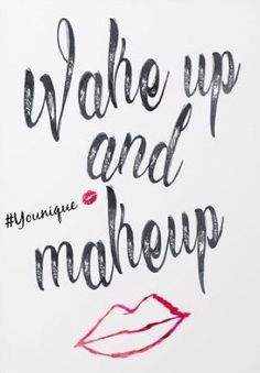Wake and Makeup with Younique!#ClickImageToShop #Questions #EmailMe sarahandbrianyounique@gmail.com or comment below