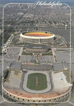 Old Philadelphia, JFK, Spectrum, Veterans Stadium