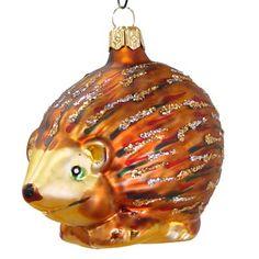 blown glass christmas ornaments hedgehog blown glass christmas ornament made in poland by varsovia christmas
