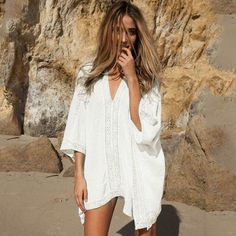 Women's Sexy Beach Sheer Cover Up