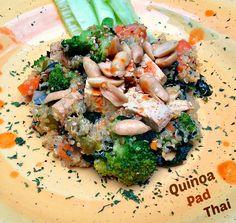 Quinoa Pad Thai #vegan