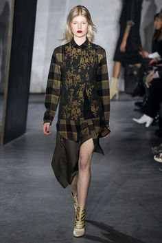 Print Mixing Inspiration //  3.1 Phillip Lim Fall 2015 Ready-to-Wear - Collection - Gallery - Style.com