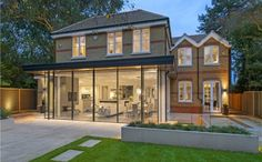 recently completed extension in Fife Road, East Sheen