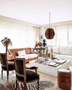 Modern and cultural mix - Light flooring