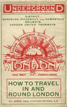 Vintage Underground Pamphlet