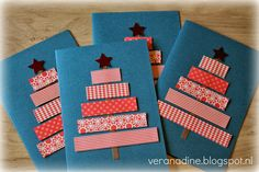 Geniet van ieder moment: Kerstkaartjes maken Handmade Christmas, Christmas Crafts, Diy Postcard, Kids Education, Washi Tape, Creations, December, Paper Crafts, Scrapbook