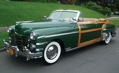 1949 Chrysler Town & Country Convertible 8L