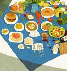 Meal ~ illustration