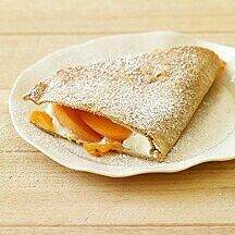 Apricot desert quesidillas 3 pts