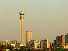 The Hillbrow Tower, Johannesburg. Johannesburg Skyline, Greenhouse Farming, Sense Of Place, Pretoria, Continents, Cn Tower, South Africa, Landscape Photography, Nostalgia