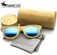 3f9b153364 Aliexpress.com: Comprar Hot 2016 gafas de sol hombres mujeres gafas de Sol  Mujer Azul de Alta Calidad De Madera De Bambú Gafas UV400 Polaroid  polarizado ...