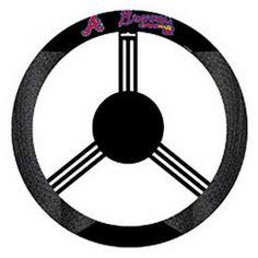 New York Yankees Premium Embroidered Black Auto Steering Wheel Cover Baseball Inc Rico Industries