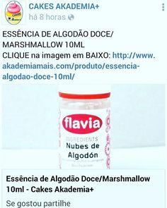 ESSÊNCIA DE ALGODÃO DOCE/MARSHMALLOW 10ML CLIQUE na imagem em BAIXO: http://www.akademiamais.com/produto/essencia-algodao-doce-10ml/