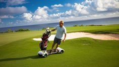 Surf Your Favorite Golf Course With the Golfboard (Video)