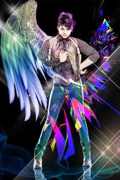Adam Lambert Our beautiful angel ... Or devil ;)