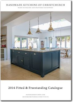 Handmade Shaker Kitchen | Handmade Kitchens of Christchurch | Discover more at www.mycasainteriors.com