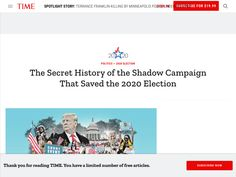 The Secret Bipartisan Campaign That Saved the 2020 Election | Time