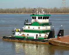 Towboats on the inland waterways rivers tugs by NICOLET3 on Etsy, $5.50