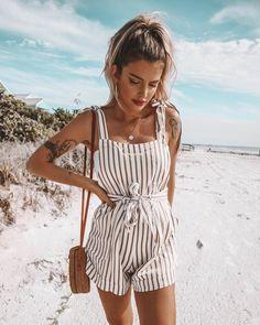 35 Newest Summer Beach Outfits Ideas For Women 2019 - Cute beach outfits - Cute Beach Outfits, Beach Vacation Outfits, Cute Spring Outfits, Trendy Outfits, Casual Beach Outfit, Beach Vacations, Outfit For The Beach, Teen Beach Outfit, Teenage Outfits