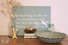 Spring and Easter decorating | DIY Show Off ™ - DIY Decorating and Home Improvement Blog