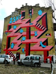 Wall art, Kyiv