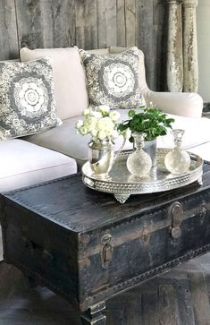 60 Awesome Rustic Farmhouse Living Room Decor Ideas