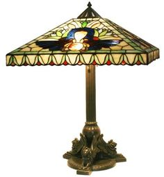 Duffner & Kimberly Egyptian Leaded Table Lamp