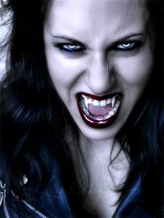 Vampire Sylvia-Bite by ~KristianasCoven