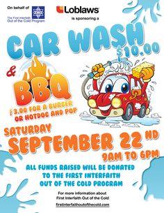 car wash/bake sale flyer | car wash | Pinterest | Bake sale flyer ...