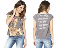 "Star Wars by Triton // T-Shirt Fem ""C-3PO Tour"""