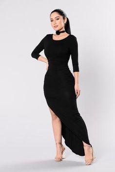 Think About Me Dress - Black