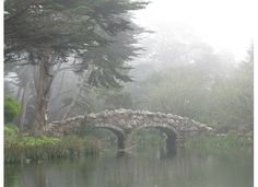 Bridge over Stow Lake by sarapass This stone bridge is in Golden Gate Park, over Stow Lake, connecting walkers to Strawberry Hill. Stow Lake, Manor Homes, English Architecture, Strawberry Hill, English Castles, City Pass, Golden Gate Park, British Isles, Bridges