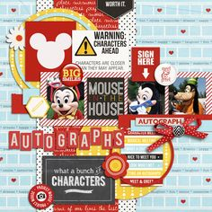 "Project Mouse: ""Character Moments"" + FREEBIE 
