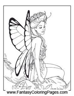 510 Best Fairies Coloring Images In 2019 Coloring Pages Faeries